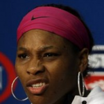 Serena Williams shows disgust and contempt